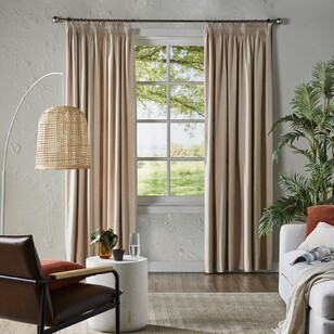 Home Label Collection Sanctuary Blockout Pencil Pleat Curtains