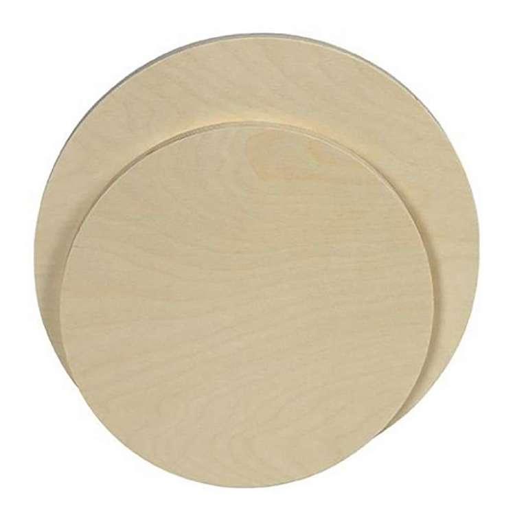 Jasart Round Artist Wood Panel