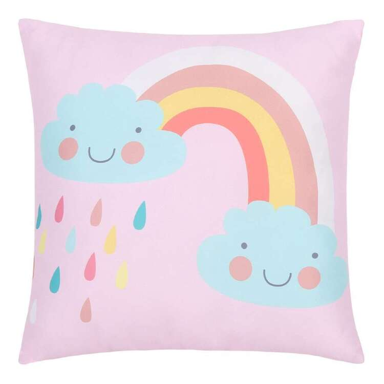 Ombre Blu Magical Unicorn Rainbow Cushion