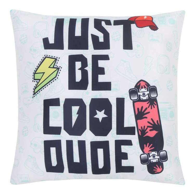 Ombre Blu Skater Dude Cushion