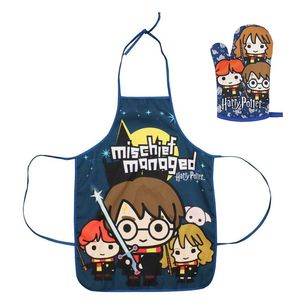 Hot Topic Harry Potter Kids Apron & Oven Mitt Set