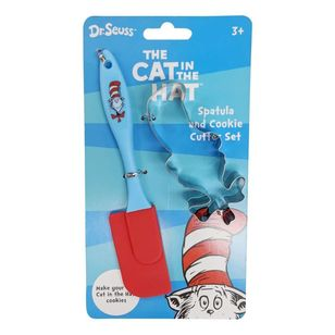 Hot Topic Dr. Seuss Kids Spatula & Cookie Cutter Set
