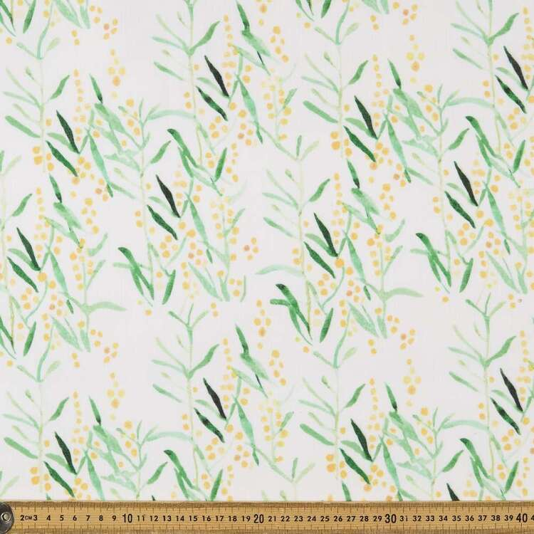 Field #3 Printed 148 cm Easy Care Linen Look Polyester Fabric