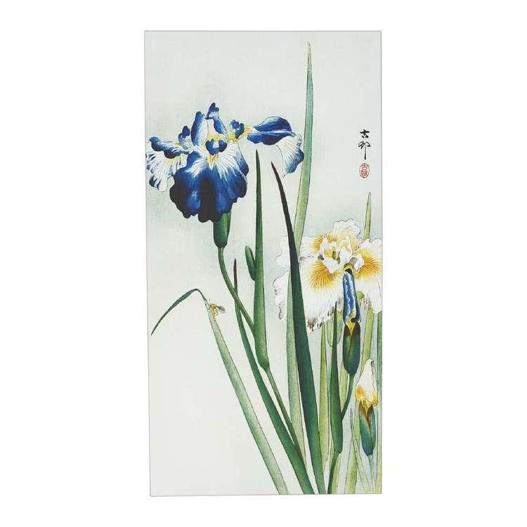 Impact Posters Ohara Koson Irises Framed Canvas