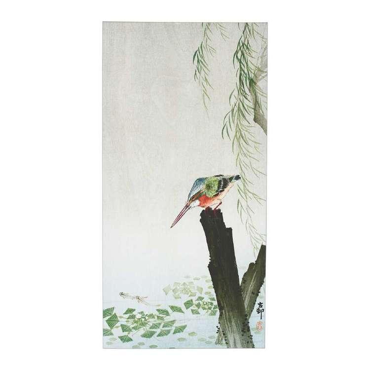 Impact Posters Ohara Koson Kingfisher Framed Canvas