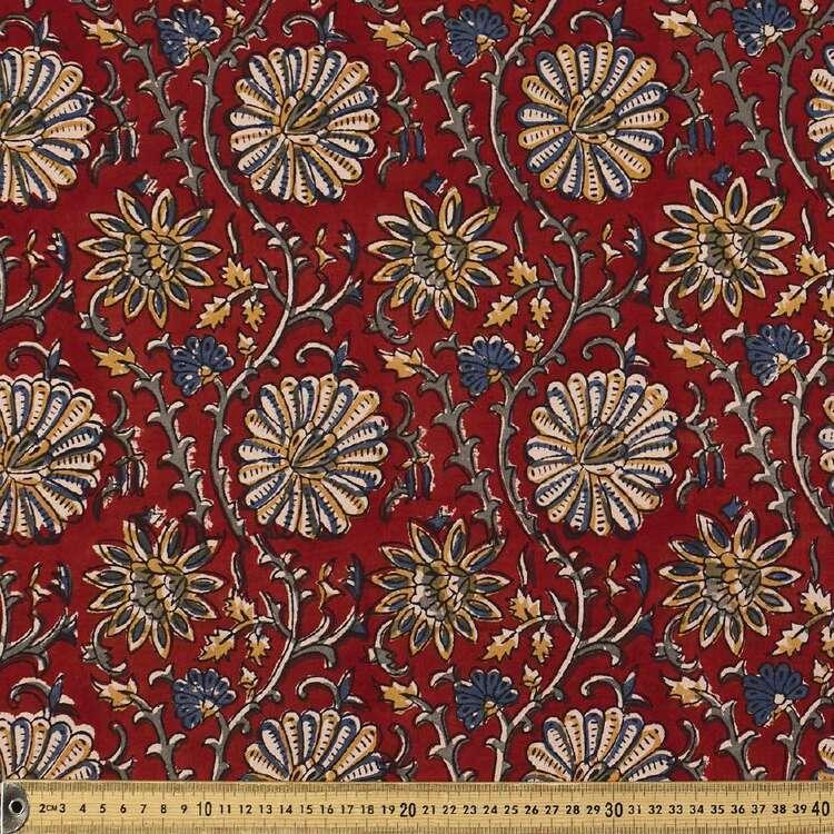 Bagiche Printed 112 cm Vegetable Dye Cotton Fabric