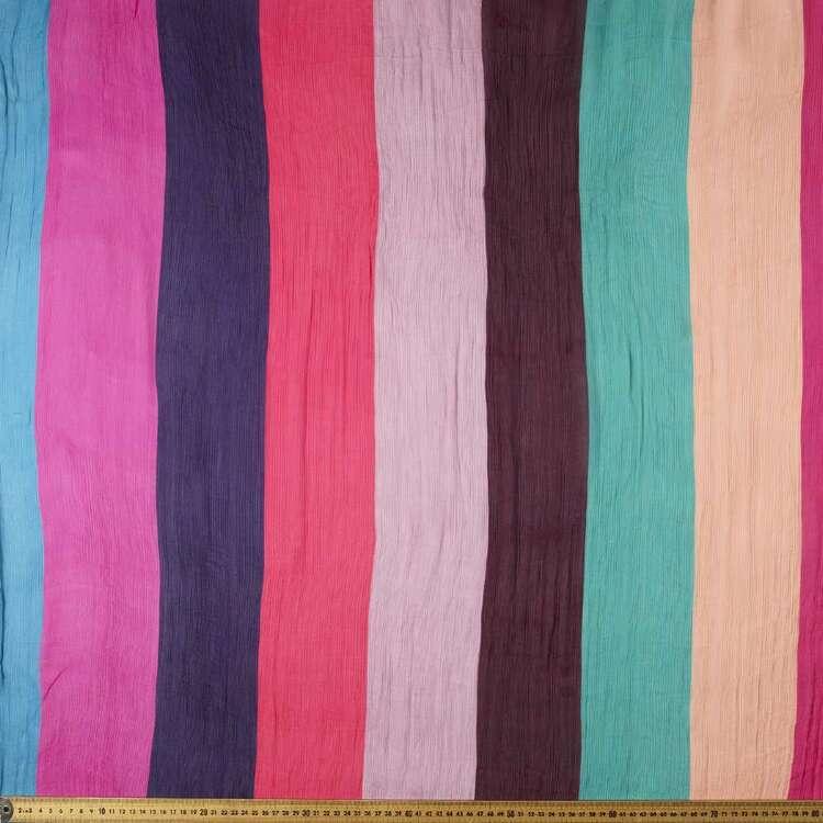 Summer Printed 112 cm Viscose Crush Satin Fabric