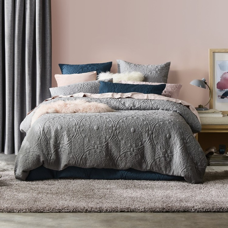 KOO Victoria Quilted Quilt Cover Set