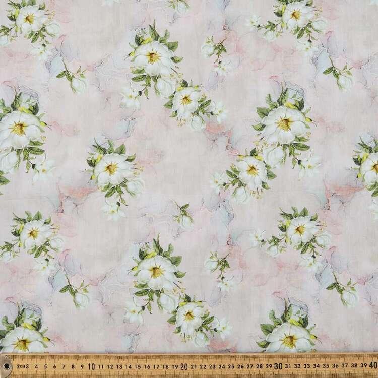 Watercolour Digital Printed 135 cm Cotton Lawn Fabric