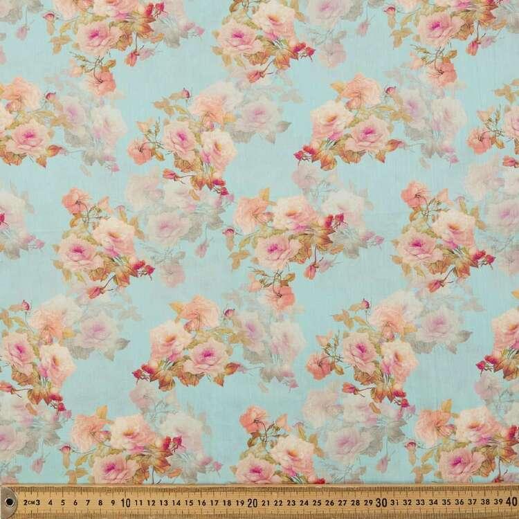 Trellis Digital Printed 135 cm Cotton Lawn Fabric