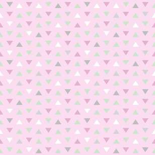 Triangles Printed 112 cm Flannelette Fabric