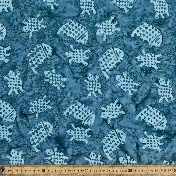 Indonesian Batik Sea Turtles