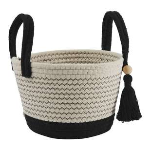 Ombre Home Artisan Soul Basket With Tassels