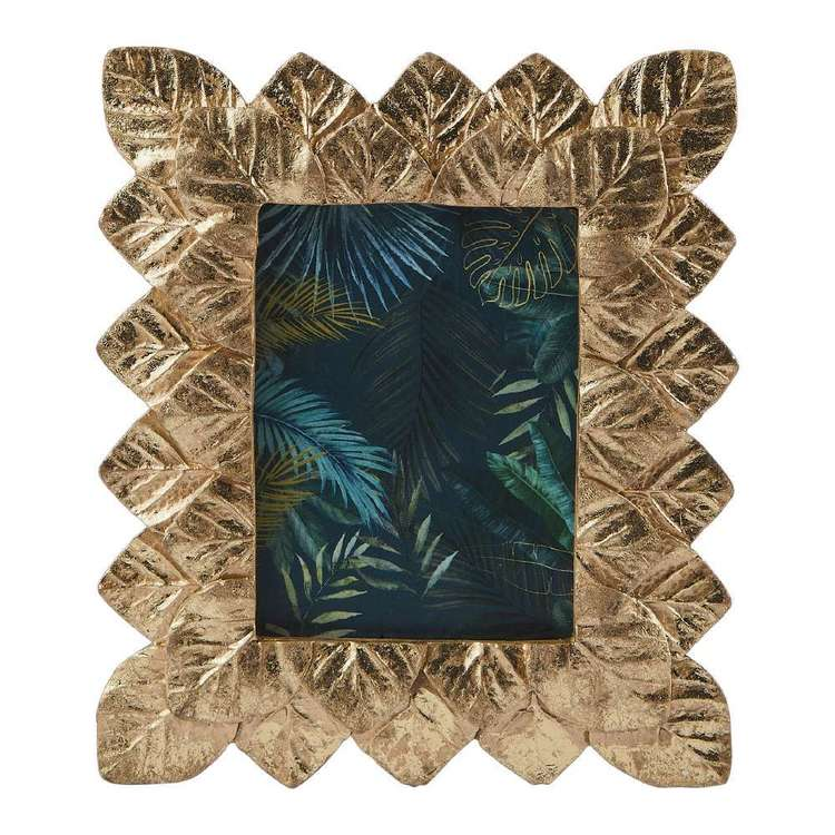 Ombre Home Artisan Soul Leaf Photo Frame