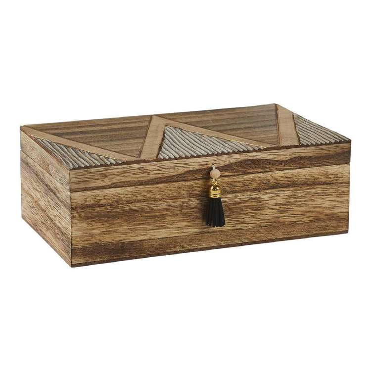 Ombre Home Artisan Soul Tribal Trinket Box