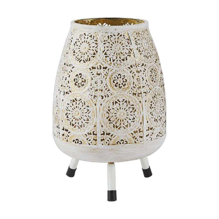 Ombre Home Artisan Soul Etched Lantern With Legs