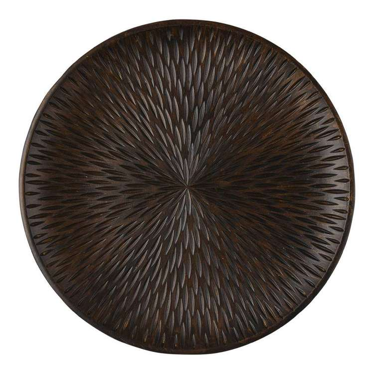 Ombre Home Artisan Soul Textured Decorative Round Plate