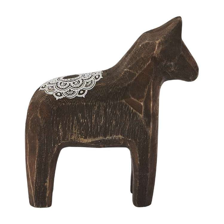 Ombre Home Artisan Soul Decorative Horse With Mandala Design