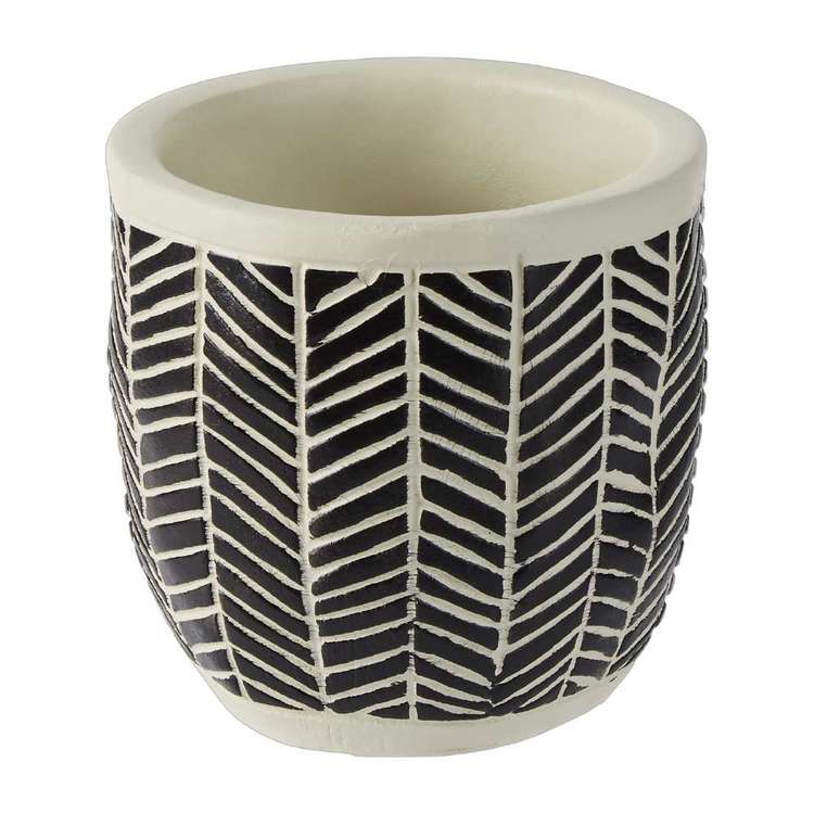 Ombre Home Artisan Soul Lines Planter Pot
