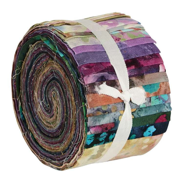 Indian Batik 20 Piece Jelly Roll