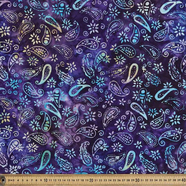 Indonesian Batik Paisley # 2