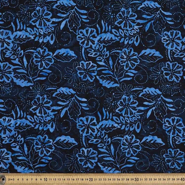 Indonesian Batik Floral Fern