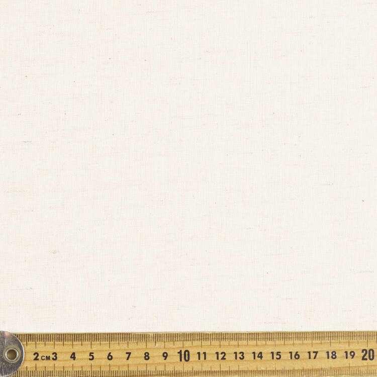 Plain 140 cm Rayon Cotton Flax Seeded Fabric