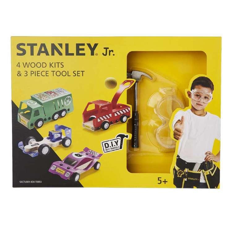 Stanley Timber Vehicle & Tool Kit