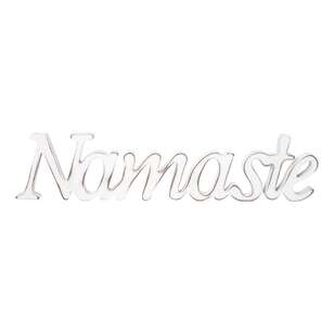 Bouclair Causal Spirit Decorate Typo Namaste Plaque