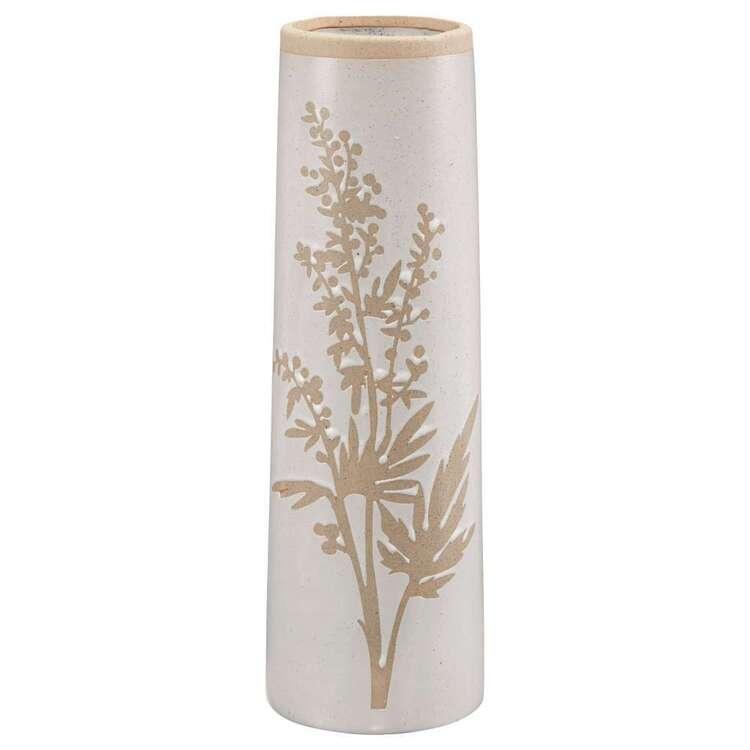 Bouclair Casual Spirit Floral Print Vase