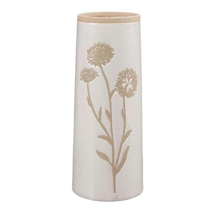 Bouclair Casual Spirit 10 x 25.5 cm Floral Print Vase