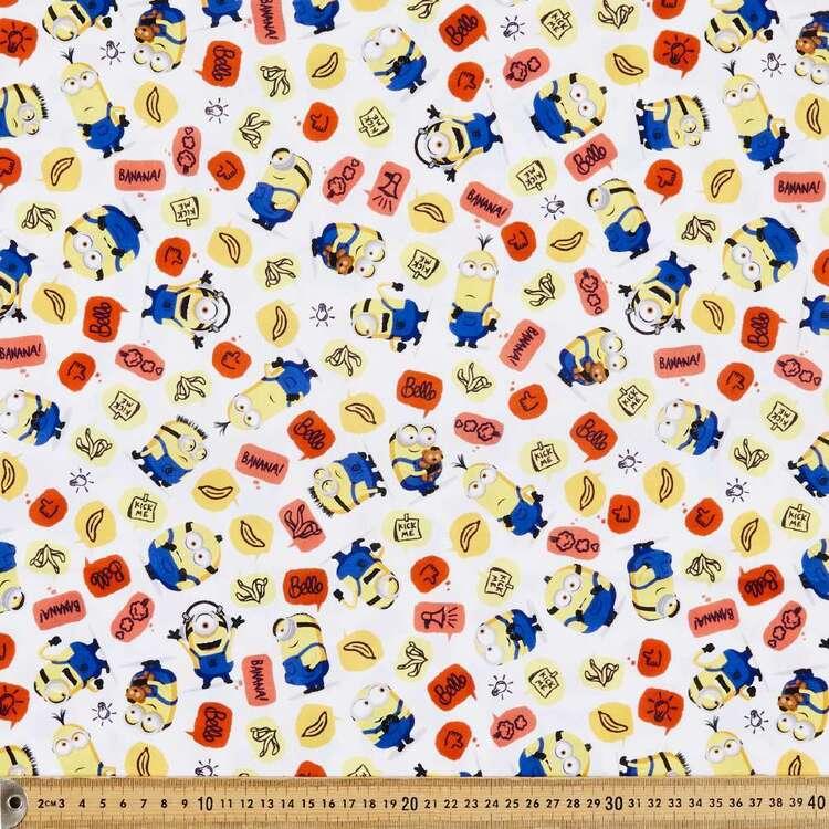 Minions 2 More Than A Minion Cotton Fabric