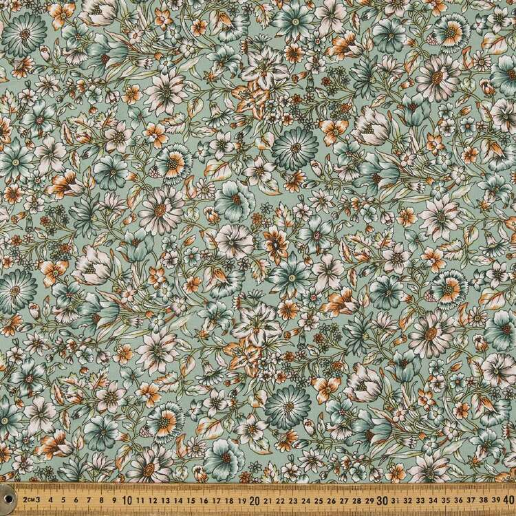 Dasavala Printed 135 cm Rayon Fabric