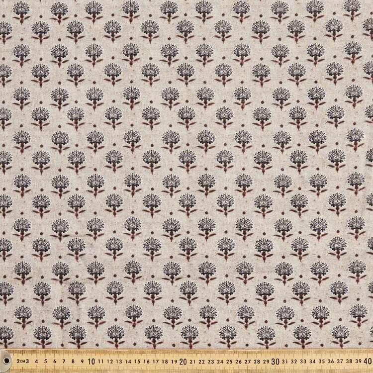 Jeetu Digital Printed 135 cm Double Cloth Fabric