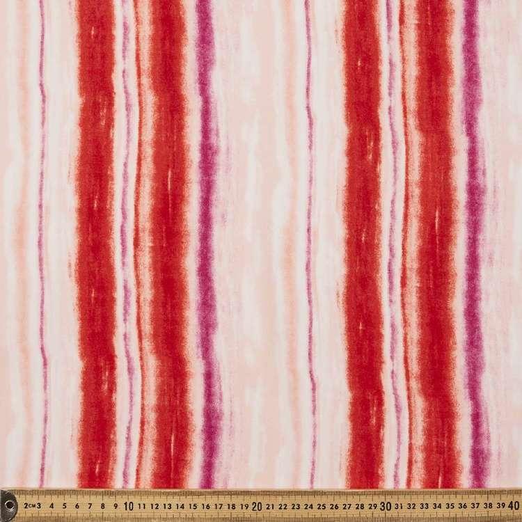 Tie Dye Printed 145 cm Oriental Slub Crepe G6 Fabric