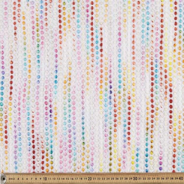Colour Bubble Mexican Poncho Fabric