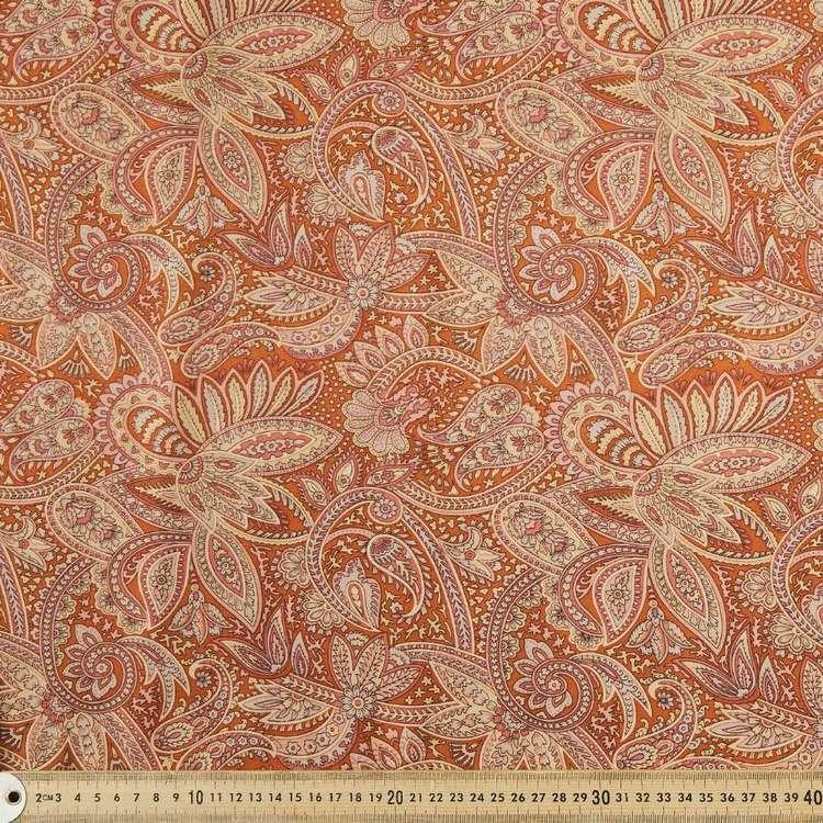 Spicy Affair Printed 135 cm Rayon Fabric