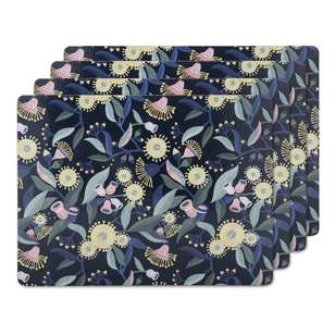 Ombre Home Australiana Gum Blossom Set Of 4 Placemats