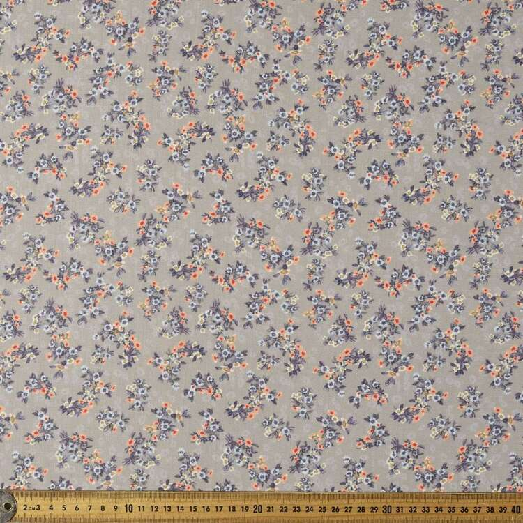 Pippa #4 Easy Care Linen Look Polyester Fabric