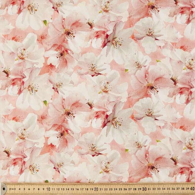 Brier Rose Digital Printed 135 cm Lawn Fabric