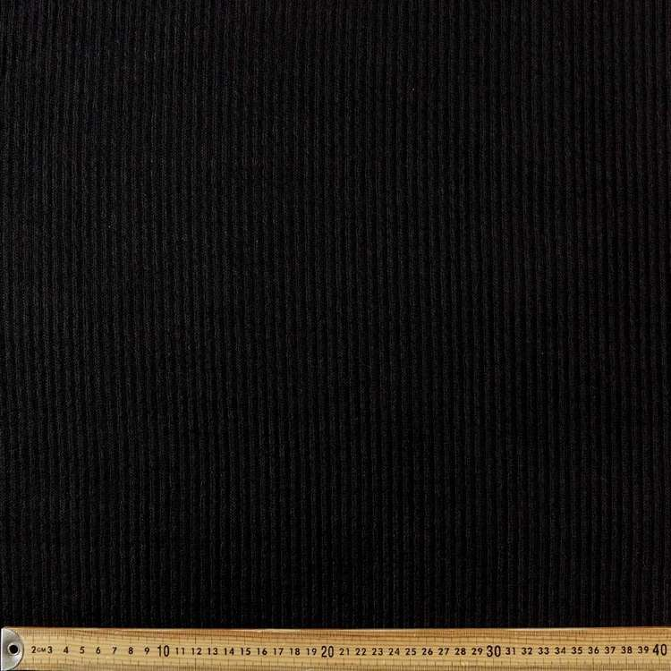 Plain Fashion 148 cm Rib Knit Fabric