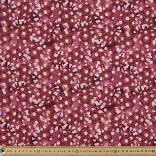 Anne Waters Gum Blossom Cotton Fabric