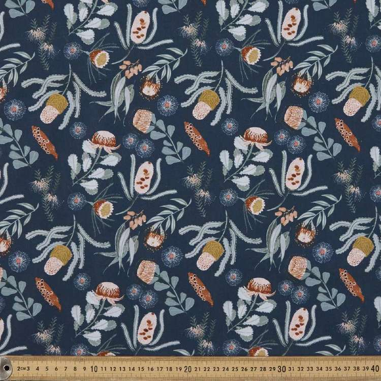Anne Waters Bushland Beauties Cotton Fabric