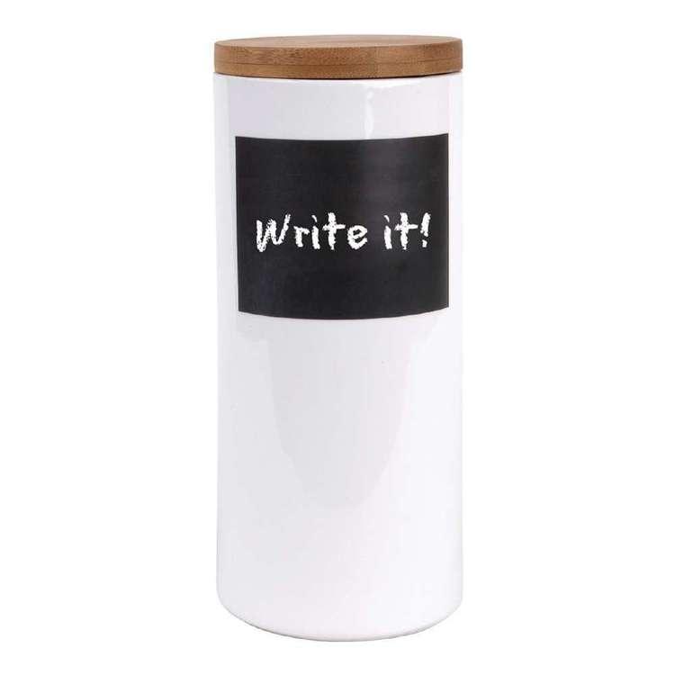 Write It! Large Pasta Jar