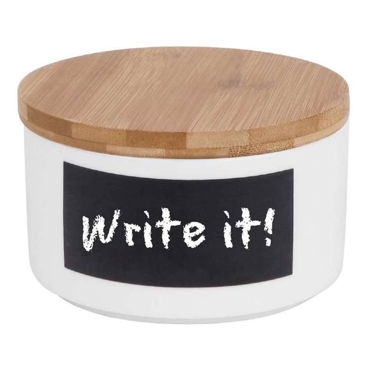 Write It! Small Storage Jar