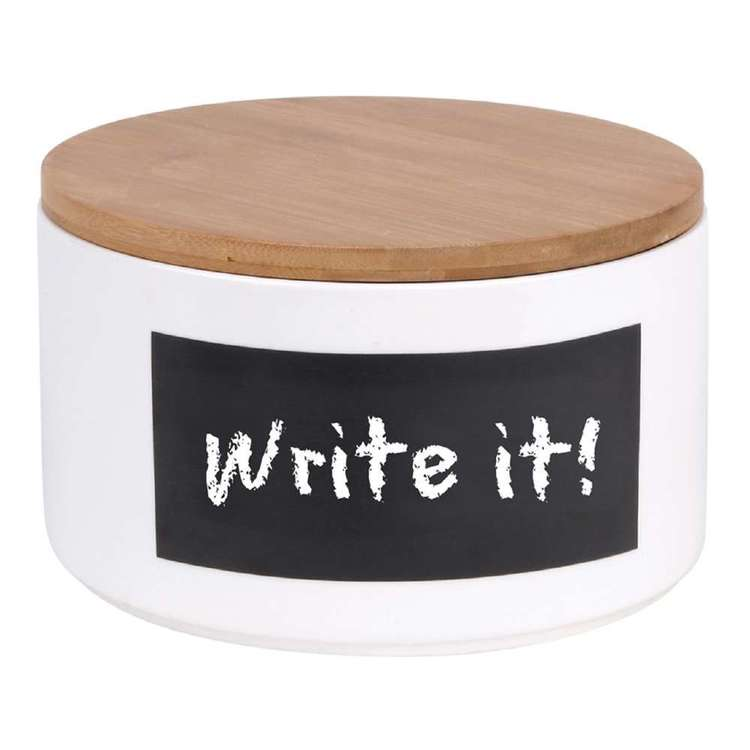 Write It! Large Biscuit Jar