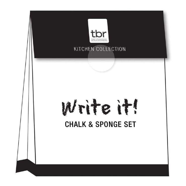 Write It! Chalk & Sponge Kit