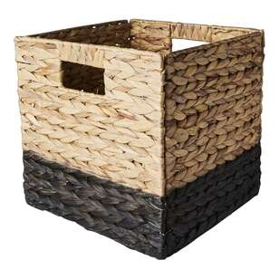 Living Space Collapsible Storage 32 cm Cube Basket