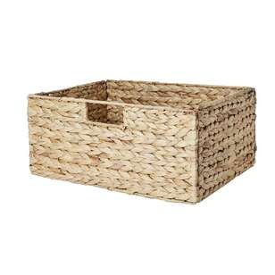 Living Space 40 x 30 cm Storage Cube Basket