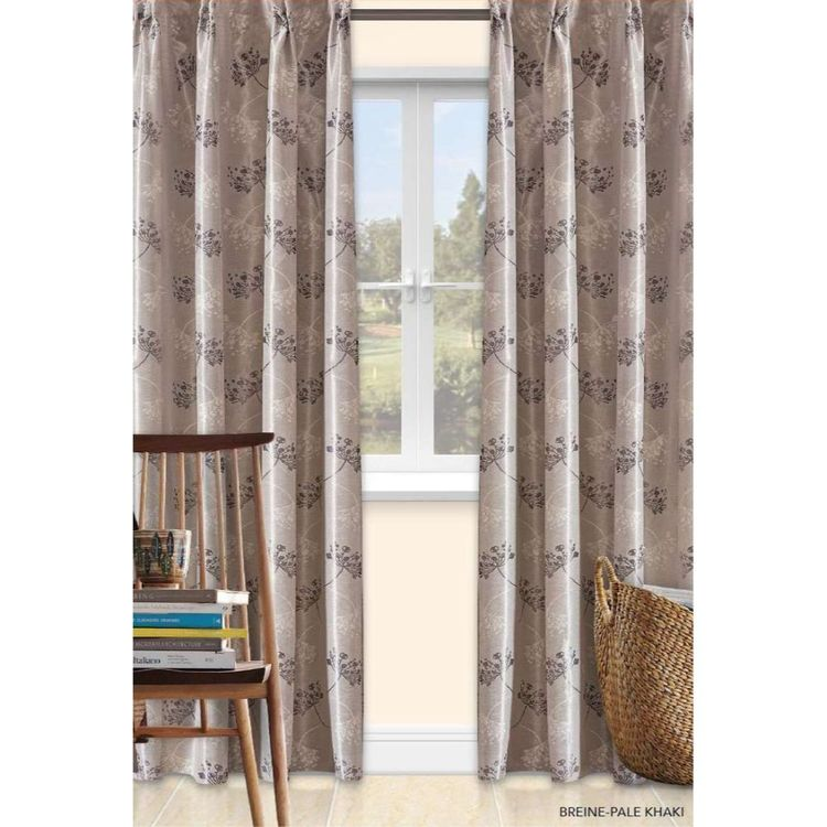 Favorita Eugenio Casa Breine French Pleat Curtains Smoke